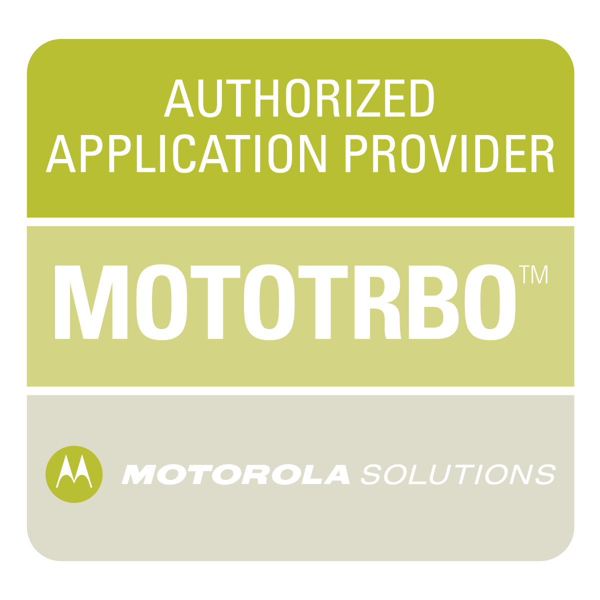 Motorola Authorized Application Provider